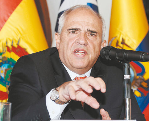Samper, expresidente colombiano. Foto: AFP