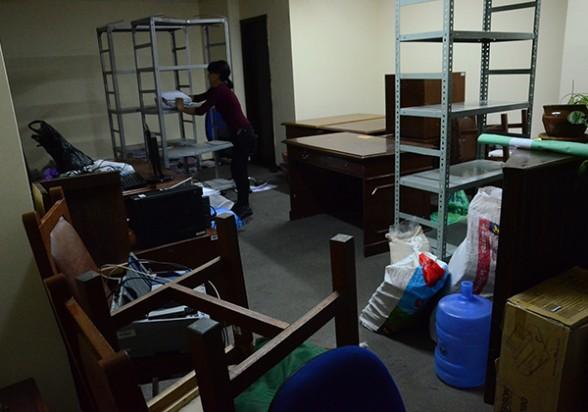 Traslado de oficinas para la habilitación de los nuevos juzgados en ambientes del Tribunal Departamental de Justicia de Cochabamba. - Hernán Andia Los Tiempos