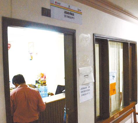 Valle. El Juzgado Público de Familia 9 de Cochabamba.