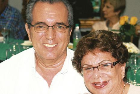 Reinaldo Calle y 'Teresita' Suárez