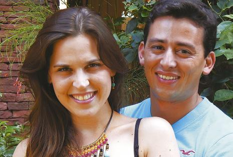 Nicole Nostas Y José María Landívar