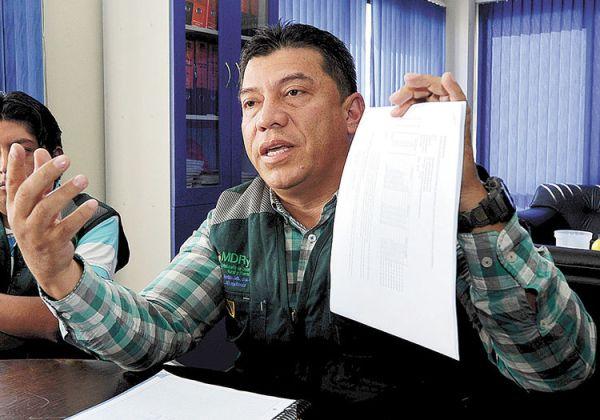 Cárcel. Marco Aramayo denuncia a Nemesia Achacollo.