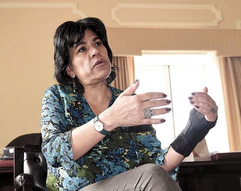 Entrevista. La presidenta delTSE, Katia Uriona, conversa con LaRazón sobre el proceso electoral del 21 de febrero.
