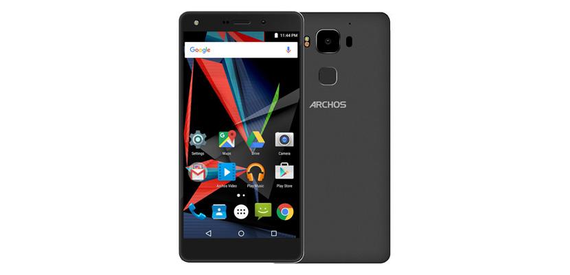 archos diamond 2 plus negro mwc Anunciado el Archos Diamond 2 Plus con pantalla de 5,5 1080p, 4GB de RAM, 64GB de memoria y Android 6.0