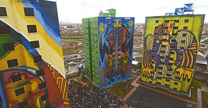 Los edificios están en El Alto y se replicará a otras regiones