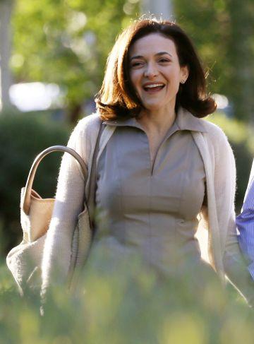 Sheryl Sandberg, en Sun Valley en 2014.