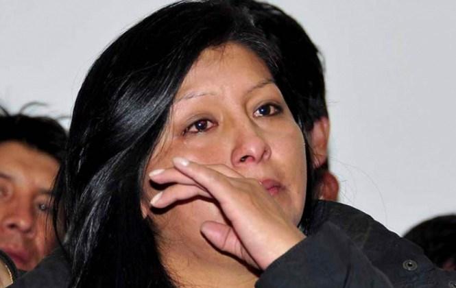 Alcaldesa Chapetón niega haber estado ausente el día de la tragedia en El Alto