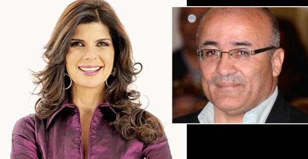 Carola Castedo y Hugo Moldiz