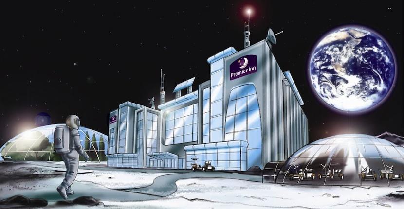 moon NASA comienza a interesarse por el concepto de hoteles espaciales