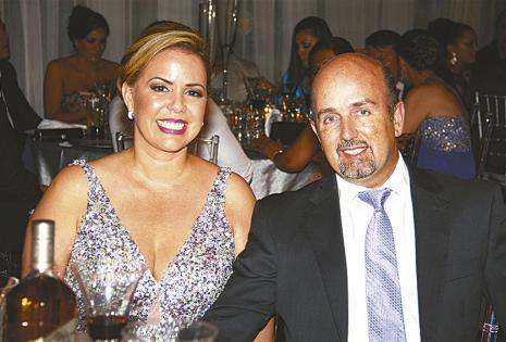 Los esposos Angélica Sosa y Sergio Perovic