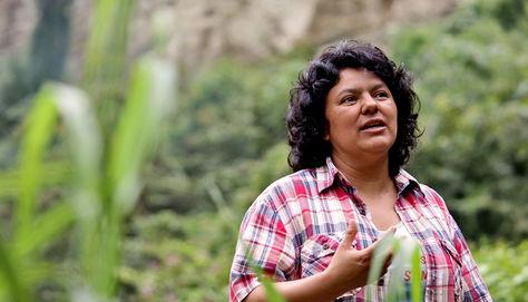 La ambientalista Berta Cáceres. Foto: www.goldmanprize.org