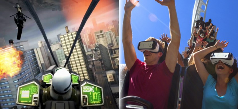 Six Flags VR 830x383 Six Flags añade gafas de realidad virtual a sus atracciones