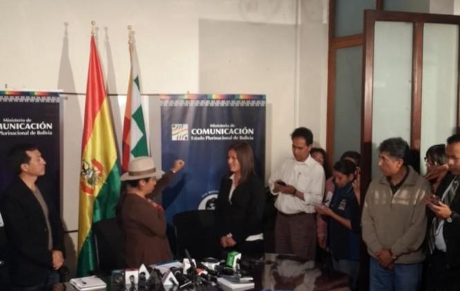 Posesionan a Paola Gonzales como la nueva viceministra de Políticas Comunicacionales