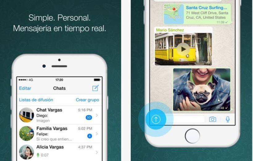 whastapp Nueva actualización de WhatsApp para iOS
