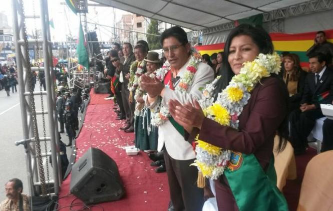 Soledad Chapetón dice que se apersonará al Palacio en busca de concretar créditos para El Alto