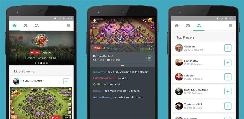 kamcord interfaz Ya puedes recibir donaciones en Kamcord para ganar dinero con tus streamings de partidas
