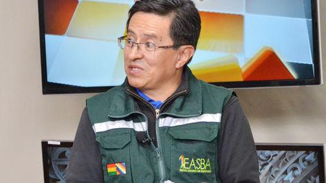 El gerente general de la EASBA, Ramiro Lizondo.