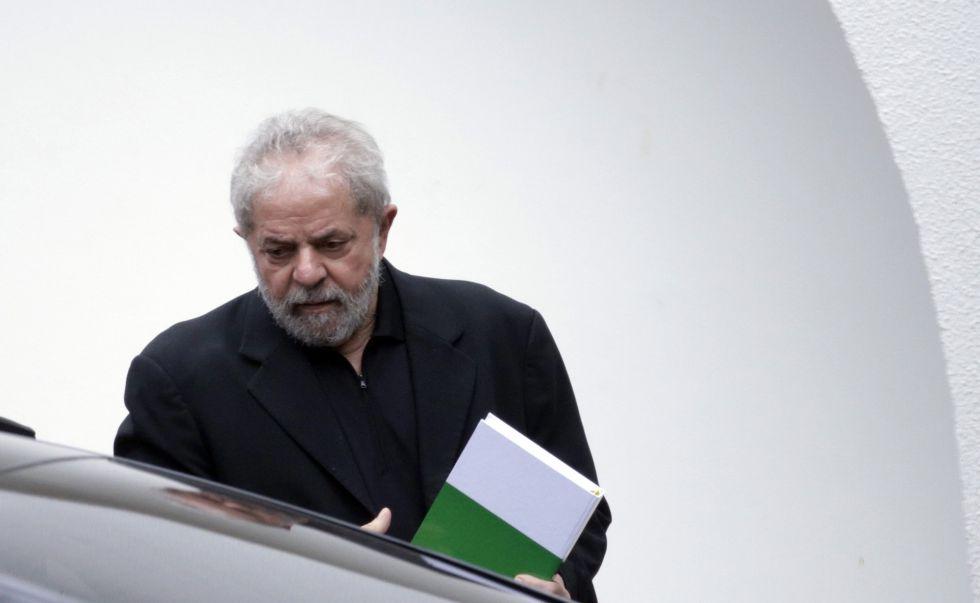 El expresidente este miércoles en Brasilia.