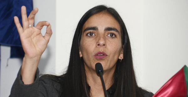 La presidenta de la Cámara de Diputados, Gabriela Montaño