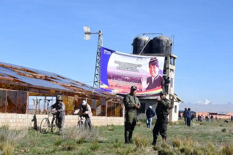 Predios donde se instalará el centro de investigación nuclear en la ciudad de El Alto.