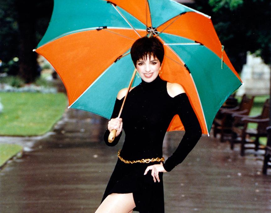 Liza Minnelli, fotografiada en Londres en 1990.