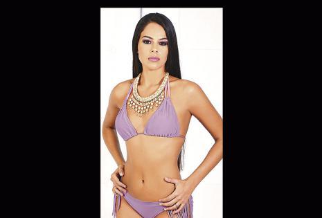 Claudia Camacho. La Srta. Santa Cruz cumplió el año de su reinado