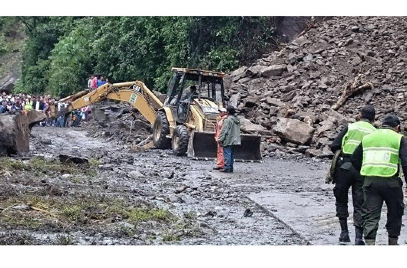 CIERRE. Cerrarán el sector de El Sillar por refacción de la carretera.