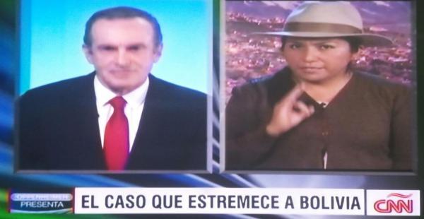 Marianela Paco reprochó al presentador Andrés Oppenheimer sobre el manejo de información