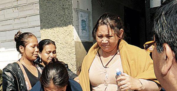 El viernes enviaron a la cárcel a la líder de la Cidob, Melva Hurtado