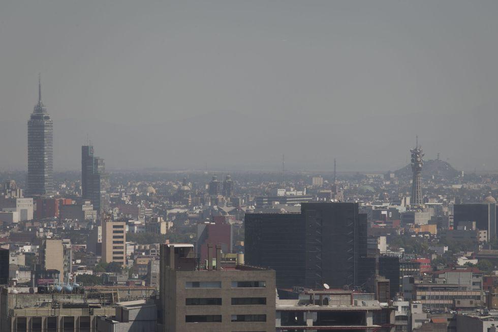 La Ciudad de México, en febrero de este año.