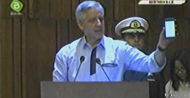 García Linera dice que el hijo de Evo no existió