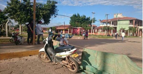 La capital beniana vive un paro cívico de 24 horas en demandas de mejoras a los servicios básicos que ofrece la Alcaldía