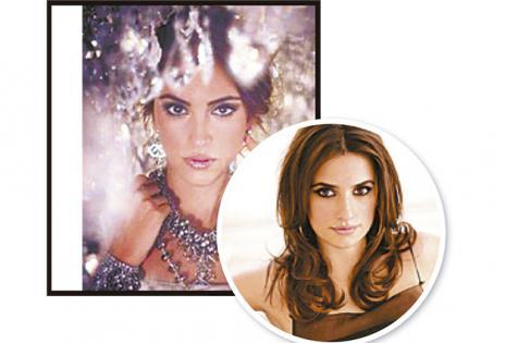 Silvia Wende y Penélope Cruz. Una vez en Cancún confundieron a la excandidata del Miss Santa Cruz con la actriz española.