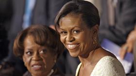 Marian Robinson junto a su hija, Michelle Obama