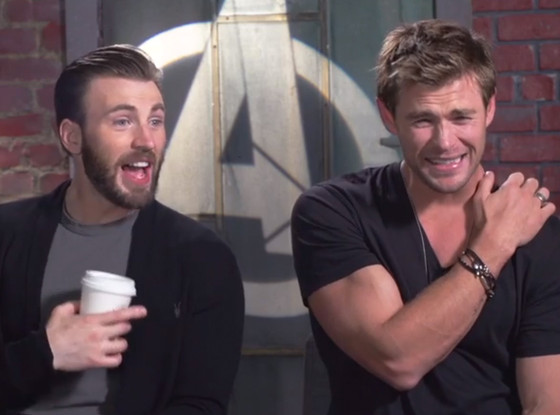 Chris Evans, Chris Hemsworth, Avengers: Age Of Ultron Cast Know Their Biceps
