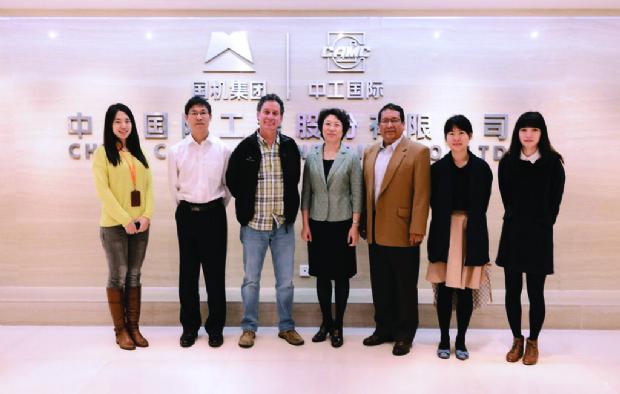 Empresa china firmó contratos en el país con 4 razones sociales