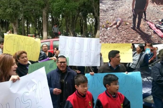 Residentes camargueños protestaron la mañana de este lunes. Fotos: CORREO DEL SUR y Gentileza