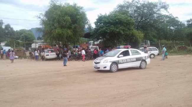 Marchistas toman la sede del Provisa en Villa Montes
