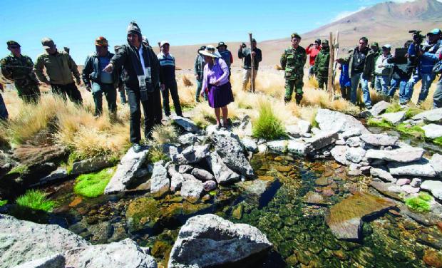 En Chile venden las aguas bolivianas