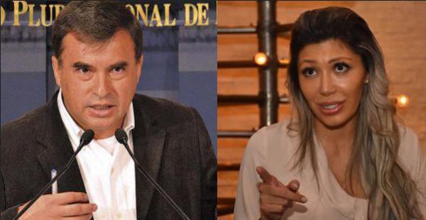 """Gabriela Zapata acusó al ministro Juan Ramón Quintana de haber """"organizado todo esto"""" en relación a las acusaciones que pesan sobre ella"""
