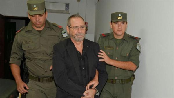 Así fue trasladado Ricardo Jaime a la Unidad Procedimientos Judiciales en Retiro