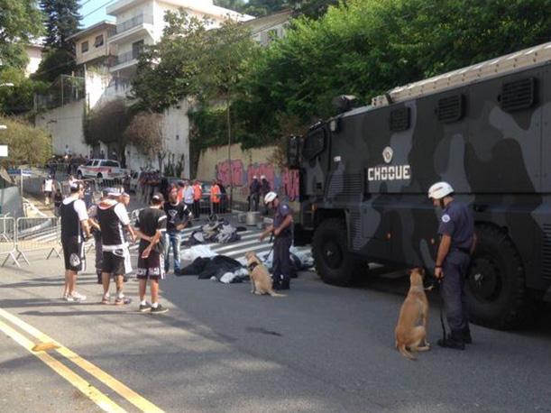 Fútbol Brasileño: un muerto por pelea de hinchas de Corinthians y Palmeiras