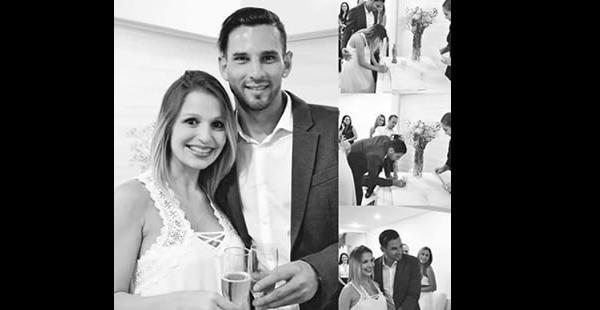 Los futuros papás tendrán una segunda boda en julio