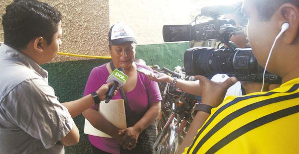 La madre de José María llegó desde La Paz para exigir justicia