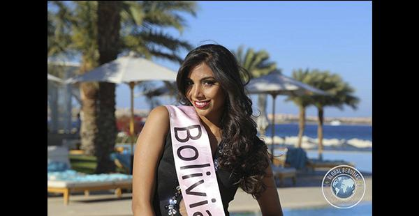 Vivian Serrano Miss Bolivia Mundo 2015