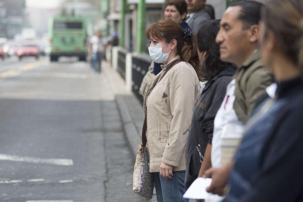Mala calidad del aire en México