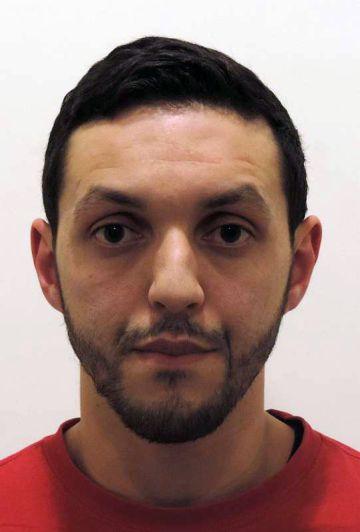Mohamed Abrini, en una imagen cedida por la policía belga.
