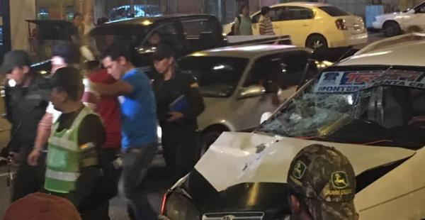 Una persona perdió la vida en un accidente de tránsito en la avenida Cristo Redentir