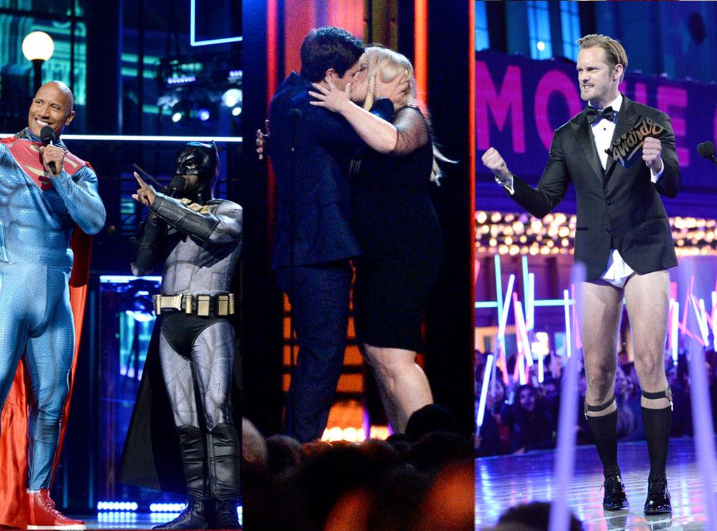 Kevin Hart, Dwayne Johnson, Alexander Skarsgard, Rebel Wilson, Adam Devine, MTV Movie Awards 2016, Show