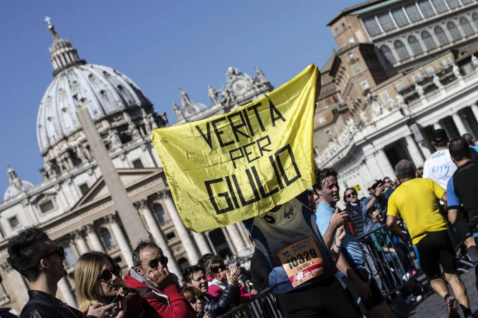Manifestantes exigen este domingo en Roma